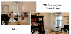 Monkton, Maryland Historic Farmhouse Kitchen Remodel