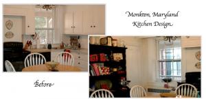 Monkton, Maryland Historic Farmhouse Kitchen Remodel