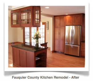 Fauquier County, Virginia:Craftsman Style Kitchen Remodel