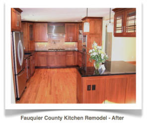 Fauquier County, Virginia: Craftsman Style Kitchen Remodel