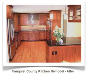 Fauquier County, Virginia: Craftsman Style Kitchen Remodel