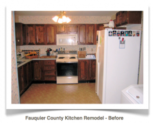 Fauquier County, Virginia: Craftsman Kitchen Remodel