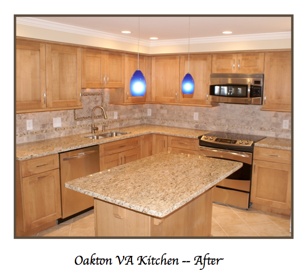 Oakton Virginia Custom Kitchen Design by Sandra Brannock