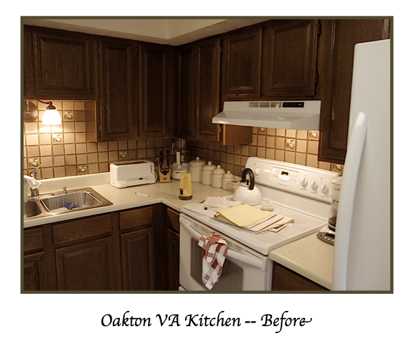 Oakton VA Kitchen Before Remodeling by Sandra Brannock Expert Kitchen Designs