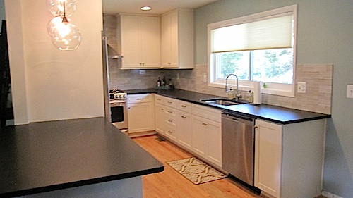 Budget Friendly Arlington Condo Kitchen Remodel Photo