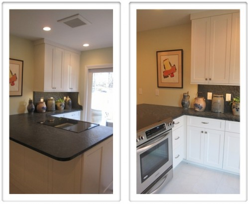 Reston townhome kitchen corner redesign