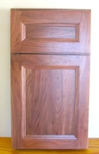 walnut door sample