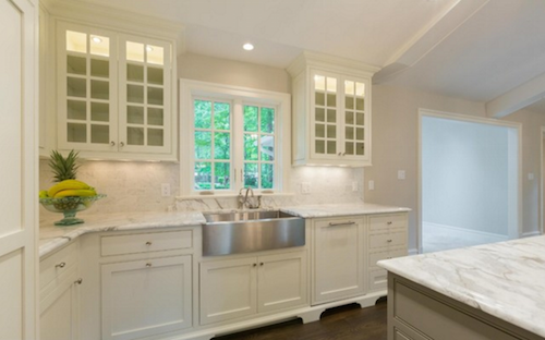 McLean VA Kitchen Renovation - Spec House - Design by Sandra Brannock, Expert Kitchen Designs