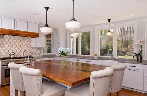 North Arlington VA Bumpout Kitchen Design by Sandra Brannock, Expert Kitchen Designs