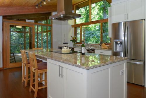 Warrenton Virginia Deck House Kitchen Remodel by Sandra Brannock