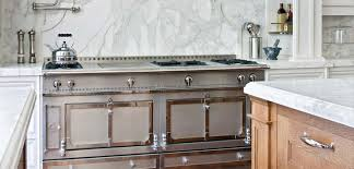 La Cornue Chateau Series Gas Range in Stainless Finish