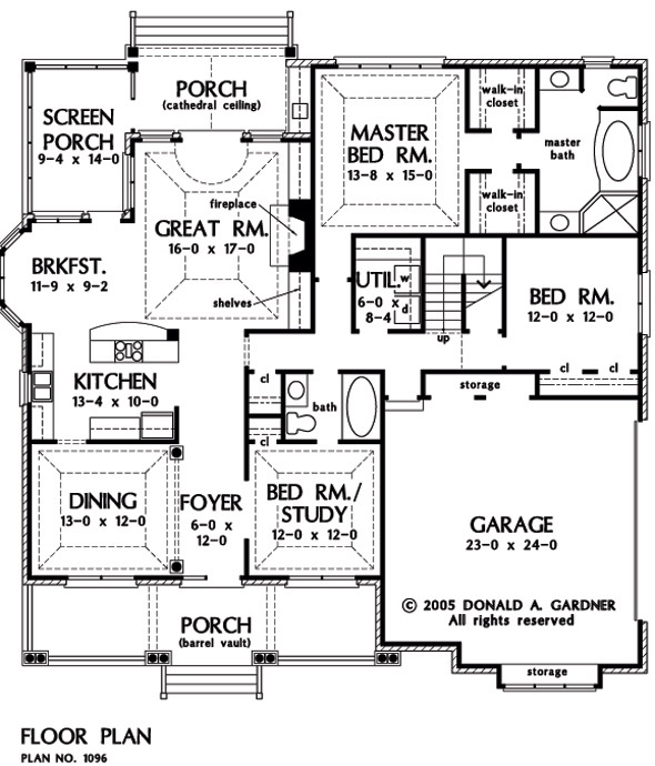Modern Day Home Floor Plan