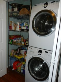Old Style Pantry Laundry Room
