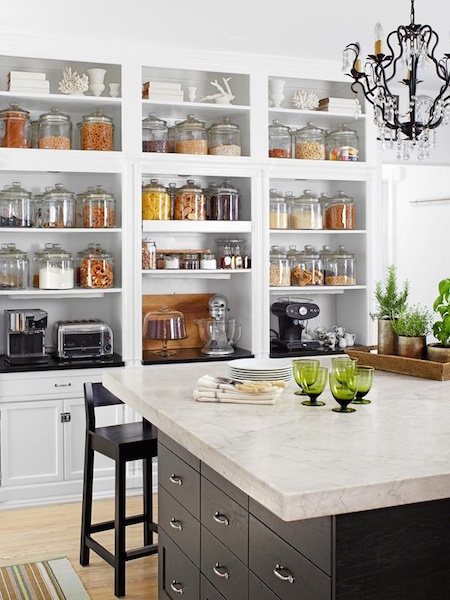 Open Kitchen Pantry Design by Expert Kitchen Designs