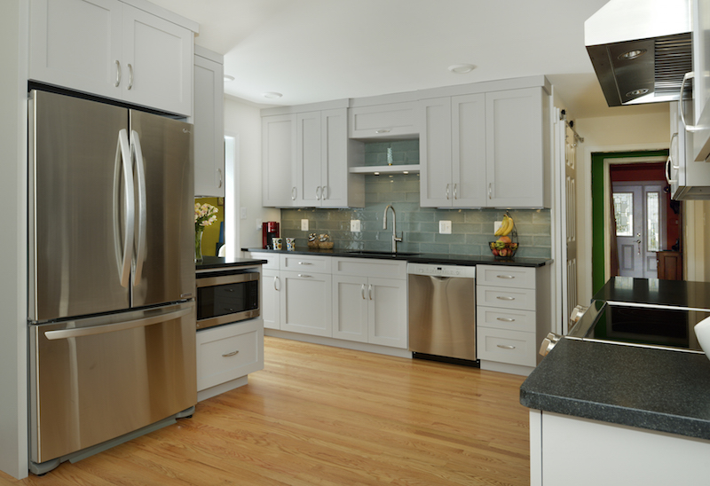 Amissville Colonial Home Kitchen Remodel