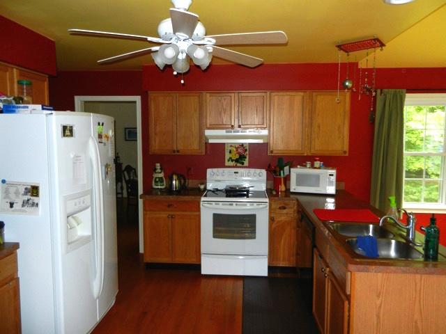 Amissville VA Kitchen White Refrigerator Before Remodeling