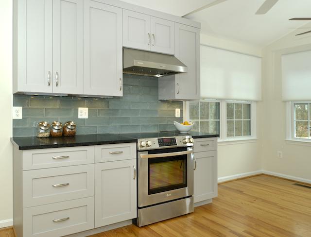 Amissville VA Kitchen remodel new kitchen range