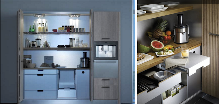 Orgavital kitchen storage cabinet