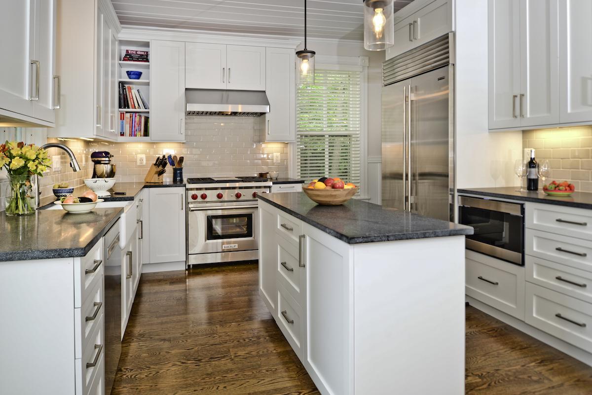Alexandria VA Farmhouse Kitchen Remodel by Sandra Brannock Expert Kitchen Designs & Arlington VA Farmhouse Kitchen Remodel | Expert Kitchen Designs