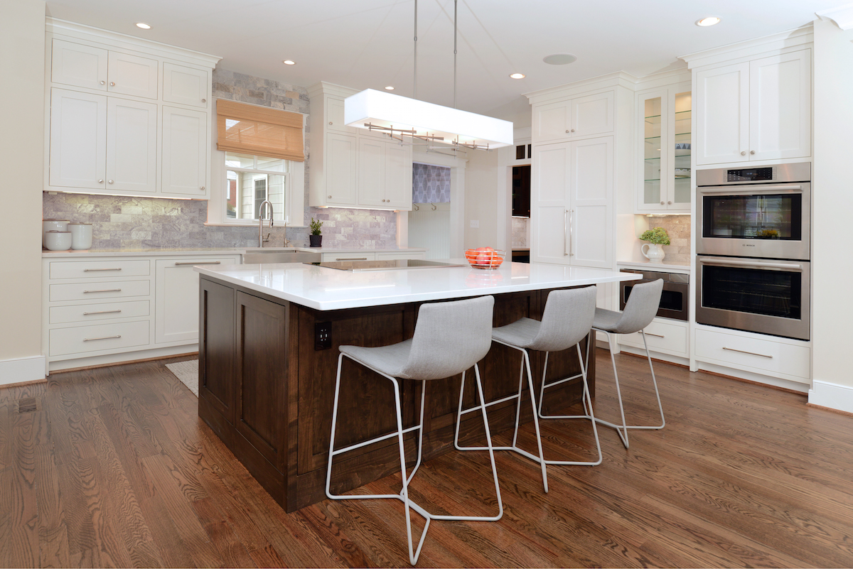 Craftsman Home Kitchen Remodel Arlington Va Expert Kitchen Designs